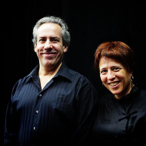 Nous perçons les oreilles, Jean Derome, Joane Hétu [Photo: Robin Pineda Gould, 14 novembre 2013]