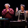 Nous perçons les oreilles that play Shaman' piece [Photograph: Céline Côté, Montréal (Québec), October 5, 2018]