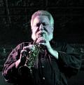 Evan Parker in concert at Montréal [Photograph: Céline Côté, Montréal (Québec), April 12, 2011]