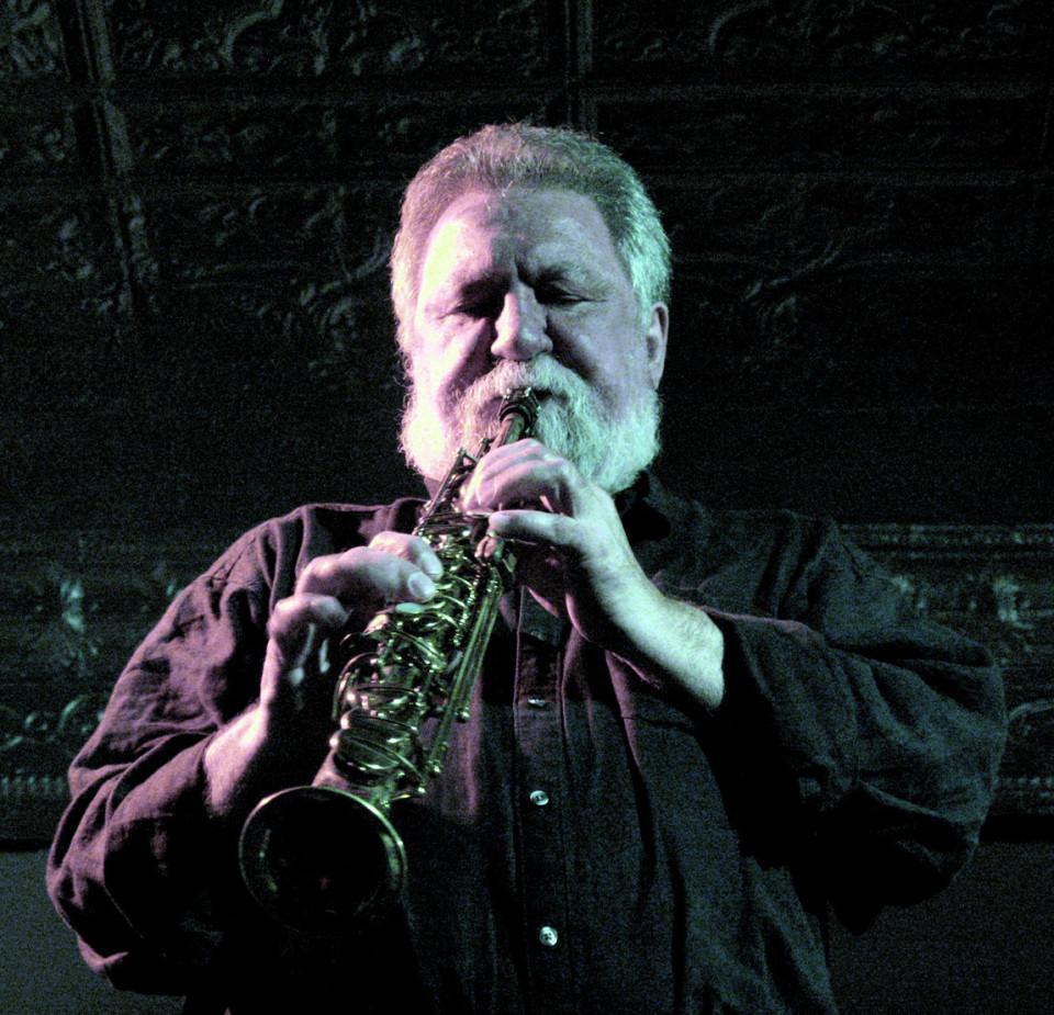 Evan Parker en concert à Montréal [Photo: Céline Côté, Montréal (Québec), 12 avril 2011]