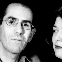 Paroles égales: Arturo Parra, Catherine Ego [Photo: Éric Vistalli, 2001]