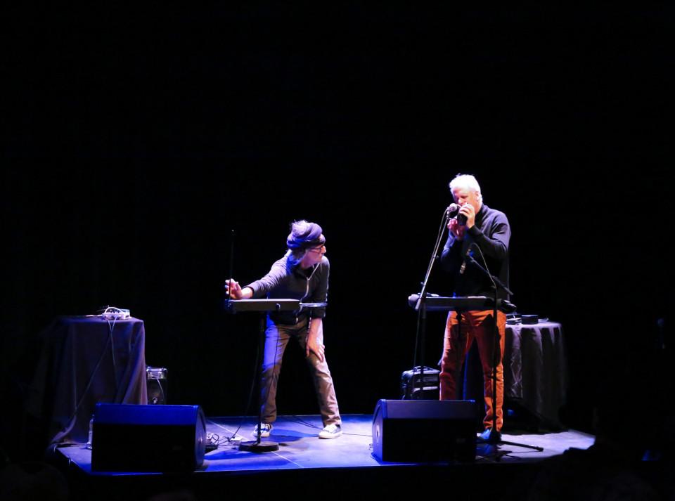 Frank Martel; Pierre Tanguay [Photograph: Andréa Cloutier, Montréal (Québec), March 6, 2015]