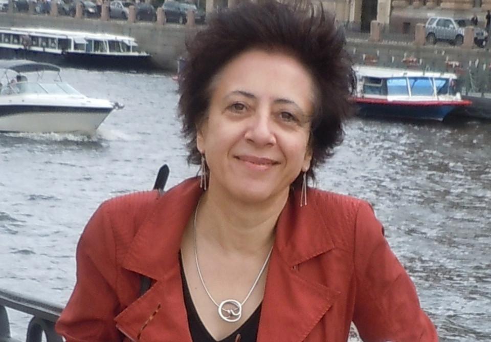 Inés Wickmann [Photo: Francis Dhomont, Saint Petersburg (Russia), July 25, 2019]
