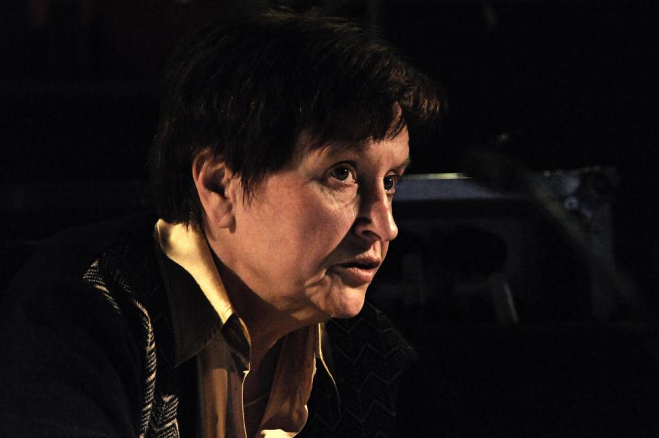 Annette Vande Gorne [Photo: Didier Allard, Paris (France), February 28, 2010]
