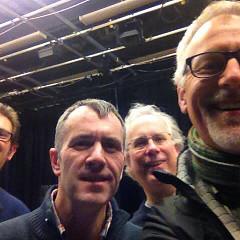 Simon Atkinson, Alistair MacDonald, Robert Dow, Pete Stollery [Photo: Pete Stollery, Leicester (England, UK), January 29, 2014]