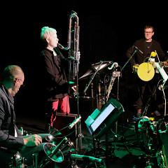 Jean-François Laporte, Lori Freedman, Jean-Marc Bouchard [Photo: Céline Côté, Montréal (Québec), 24 octobre 2019]