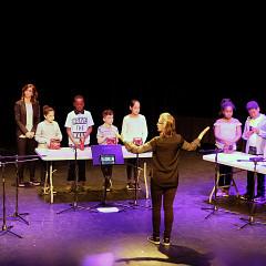 Groupe 222 — classe de Stéphanie Jacques [Photograph: Céline Côté, Montréal (Québec), May 2, 2018]