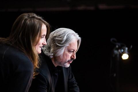 Caroline Profanter, Todor Todoroff [Photo: Diana Vos, Bruxelles (Belgique), 13 octobre 2017]