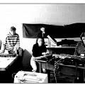 Les Poules (Danielle Palardy Roger, Joane Hétu, Diane Labrosse) [Photograph: Suzanne Girard, 1986]