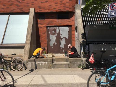 Provisional Mailorder, Anne-Françoise Jacques, Craig Pedersen [Photograph: Elizabeth Millar, Montréal (Québec), 2019]
