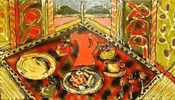 «Le pot orange» de Gilles Derome