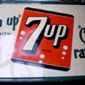Authentique enseigne Seven-Up