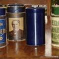 Rouleaux blues Ambersol Edison avec boîtiers