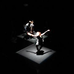 """Ensemble SuperMusique (ESM) during the """"Treize lunes"""" show [Montréal (Québec), October 19, 2006]"""