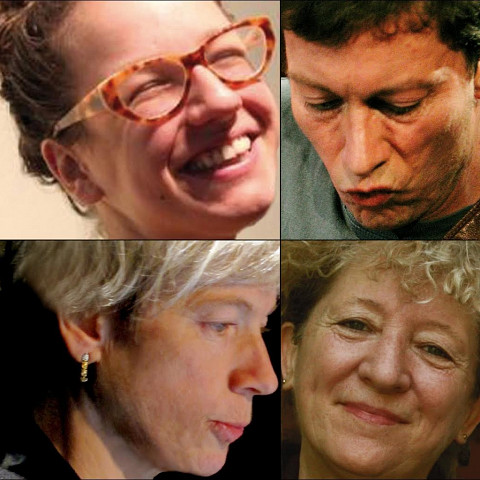 Photomontage: Émilie Girard-Charest; Bernard Falaise; Lori Freedman; Danielle Palardy Roger