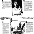Page 10 du programme du FIMI. Rencontre Jamaïque/Ontario le 9 avril. Fifth Colum: Caroline, Charlotte: Beverly, Gloria. Collaboration avec le journal Mirror