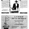 Page 17 du programme du FIMI. Concert du 8 avril de Marie-Claude De Chevigny capté par CBF_FM 100,7 Radio-Canada à la maison de la culture Marie-Uguay