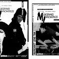 Feuillet. Concerts du 8 avril. Margaret Lang Ten: Chine/U.S.A. Coproduction Traquen'art et Galerie O'boro. Deihim/Horowitz: Iran/U.S.A (Sussan Deihim et Richard Horowitz. Captation par CBF_FM 100,7 Radio-Canada [1988]