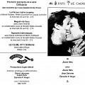 Montage des pages 1 et 4 du programme. «Au Pays de Castor» de Joane Hétu, concert dans le cadre du quatrième événement «Débâcles» de la saison 91-92 «Ce n'est pas nouveau, c'est vivant»