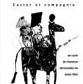 Page 1 du programme. Castor et compagnie de Joane Hétu concert dans la cadre de l'événement «Roche, Papier, Ciseaux» 4 jeudis de musique actuelle