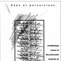 Page 1 du programme. «Sons et perversions» de Diane Labrosse concert dans la cadre de l'événement «Roche, Papier, Ciseaux» 4 jeudis de musique actuelle