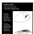 Page 1 du programme. «Double-Sens» de Joane Hétu et Danielle Palardy Roger concert dans la cadre de l'événement «Roche, Papier, Ciseaux» 4 jeudis de musique actuelle
