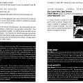 Montage des pages 2 et 3 du programme de «Nous perçons les oreilles» dans le cadre de l'événement «Collection de timbres»