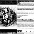 Montage des page 1 et 6 du programme de l'événement «Dans le ventre de la musique actuelle»