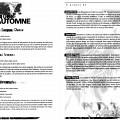 Montage des pages 4 et 5 du programme de «Musiques d'Automne»