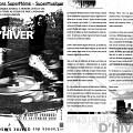 Montage des pages 1 et 3 du programme de «Musiques d'Hiver»