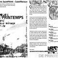 Montage des pages 1 et 3 du programme de «Musique de Printemps»