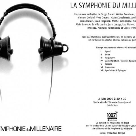 Extraits du programme officiel de la Symphonie du Millénaire