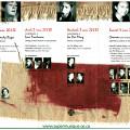 Montage des pages 2, 3 et 4 du dépliant de l'événement Canevas