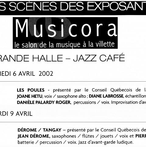 Extraits du programme [6 avril 2002]