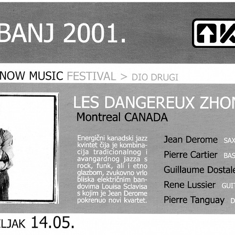 Extraits du programme [May 7, 2001]