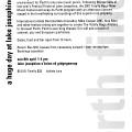 Extrait du programme [April 8, 2001]