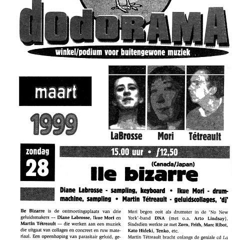 Extraits du programme [26 mars 1999]