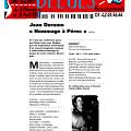 Extraits du programme [25 mars 1998]