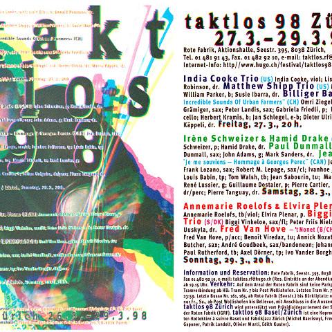 Programme du festival [March 25, 1998]