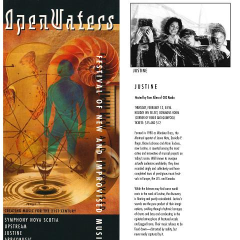 Extraits du programme [January 16, 1997]