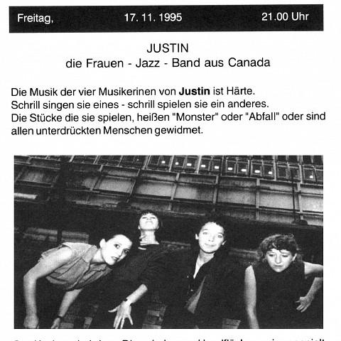 Extraits du programme [October 27, 1995]