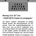 Carton promotionnel [12 mai 1996]