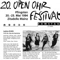 Extraits du programme du festival