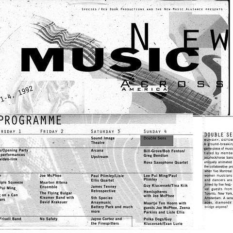 Calendrier extrait du programme