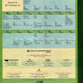 Page 12 du programme, calendrier de l'événement