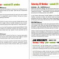 Pages 5 et 6 du programme