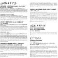 Programme du festival, page 2 et page 3 [October 12, 2006]