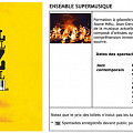 Extraits du programme [7 juillet 2006]