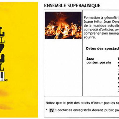 Extraits du programme [July 7, 2006]