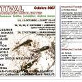 Programme [21 octobre 2007]
